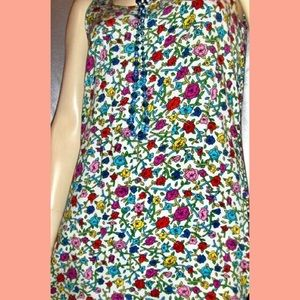 Betsey Johnson Dresses - 💋RARE VTG 80s BETSEY JOHNSON Floral Mini Dress